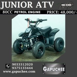 JUNIOR ATV - BLACK